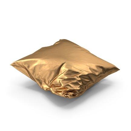 Wrinkly Pillow Golden