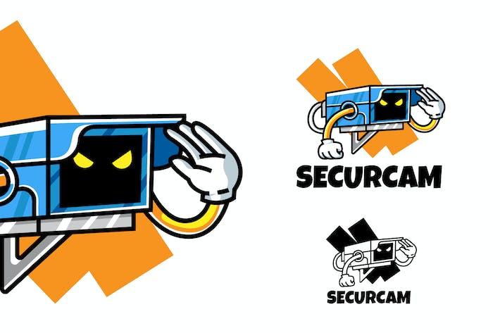 Thumbnail for Überwachungskamera - Maskottchen & Esport Logo