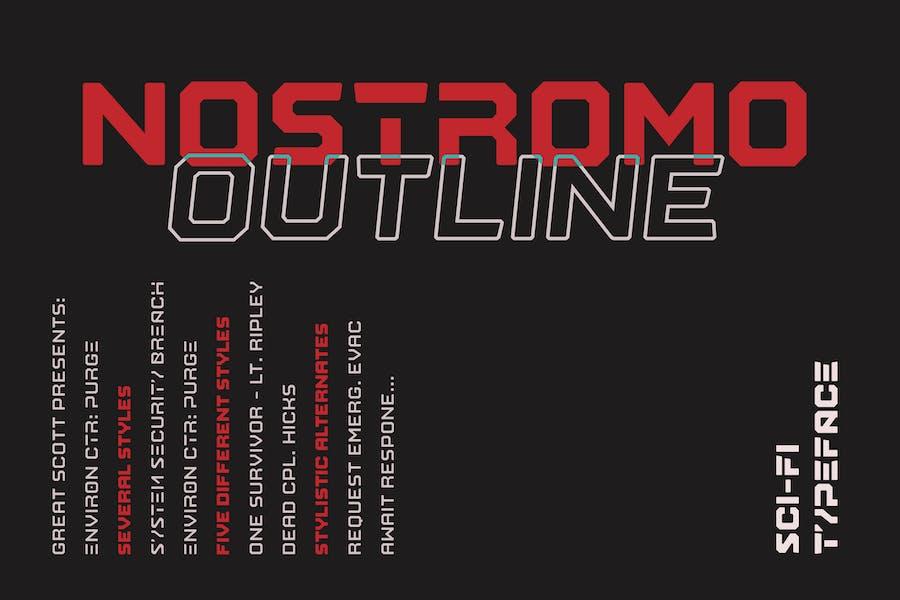 Nostromo Outline