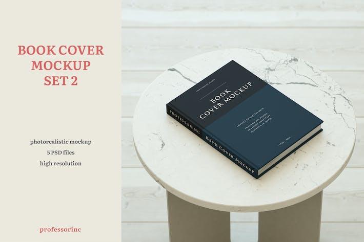 Thumbnail for Book Cover Mockup — Set 2