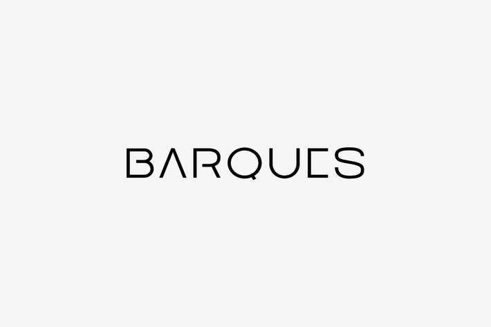 Thumbnail for BARQUES - Unique Display / Headline / LogoTypeface