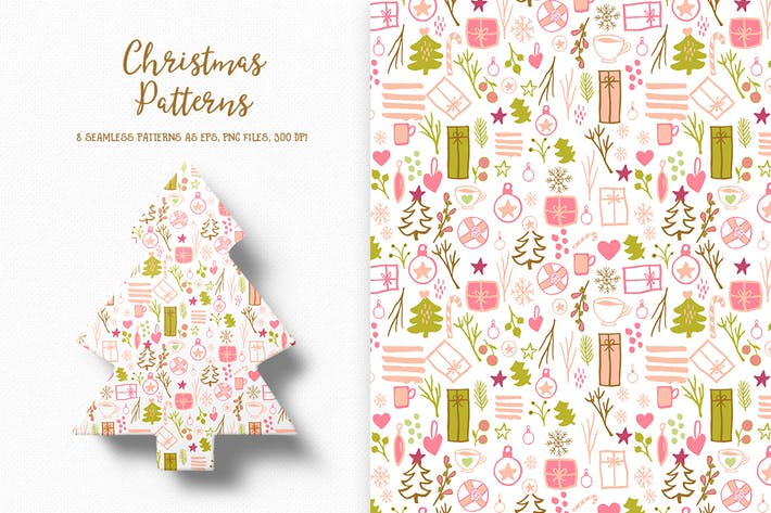 Thumbnail for Christmas Patterns Collection