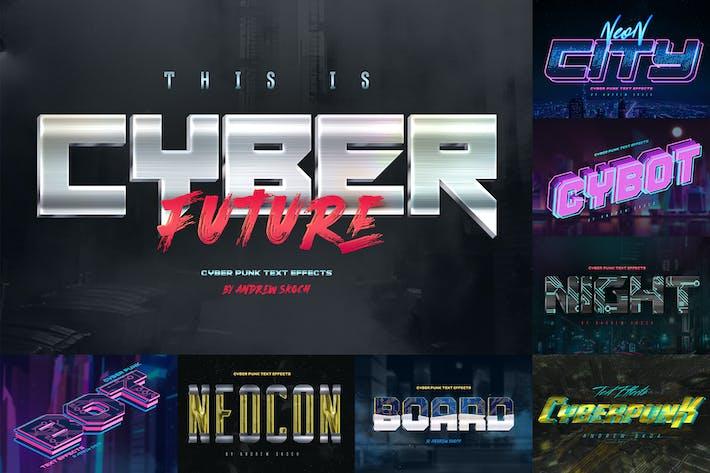 Cyberpunk Text Effects