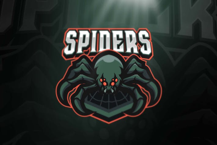 Thumbnail for Spider Sport and Esports Logo