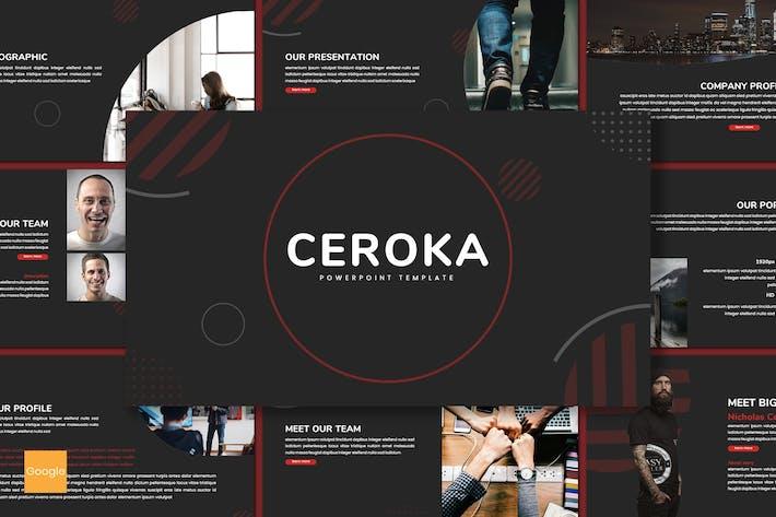 Thumbnail for Ceroka - Business Google Slides Template