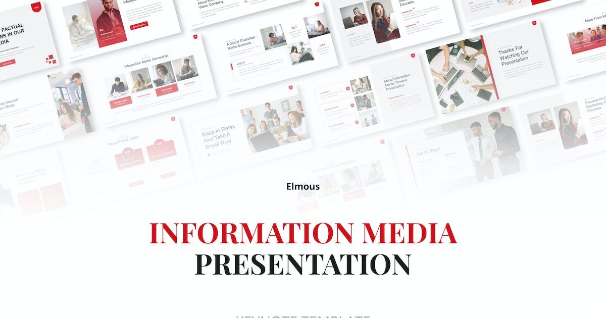 Download Information Media Keynote Presentation Template by elmous