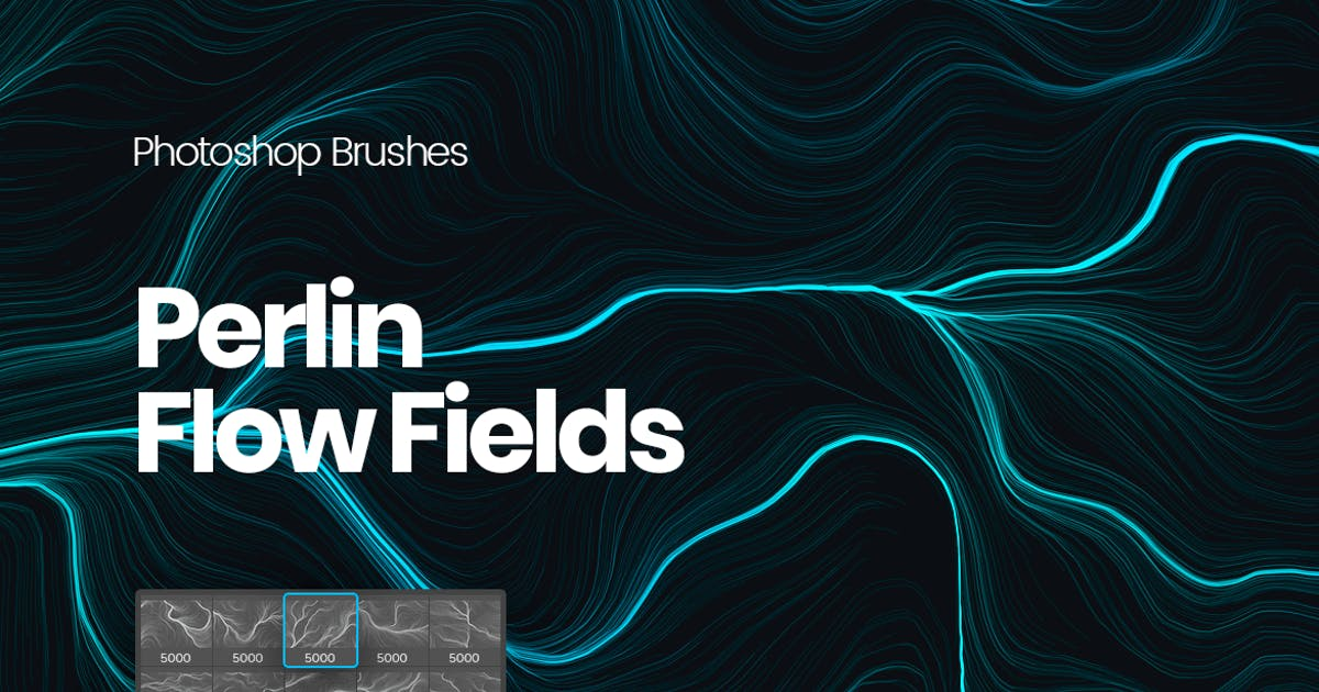 Download Digital Perlin Flow Fields Photoshop Brushes by themefire