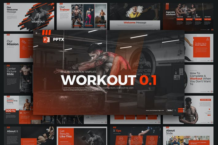 Cover Image For WORKOUT 0.1 PowerPoint Präsentation