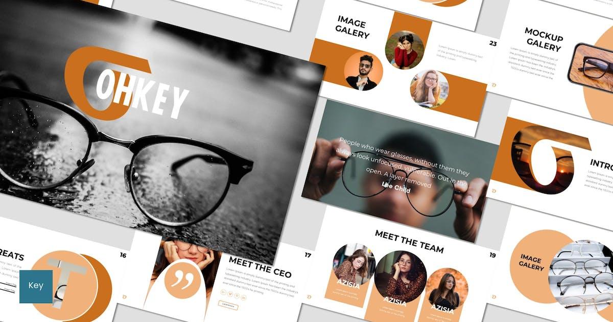 Ohkey - Keynote Template by inspirasign