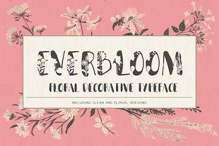 Everbloom - tipo de letra floral