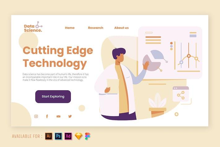 Thumbnail for Cutting Edge Technology - Web Illustration