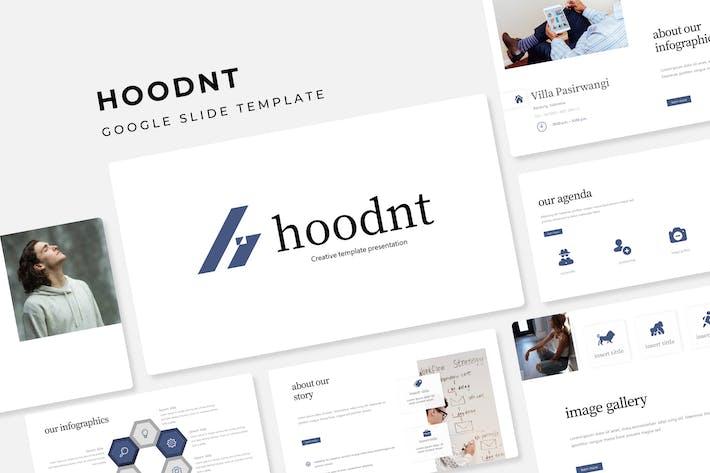 Thumbnail for Hoodnt - Google Slide Template