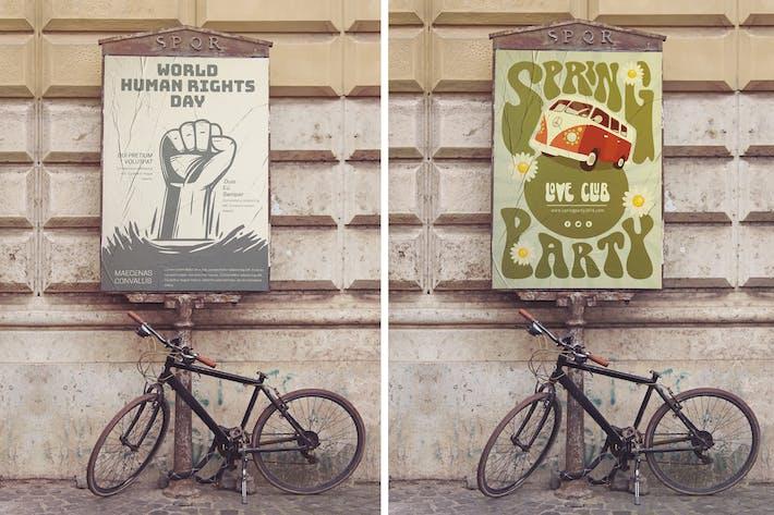 Thumbnail for Poster de rue Maquet vertical