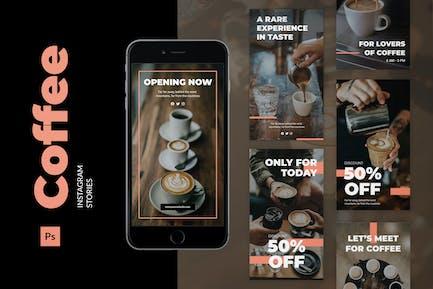 Café Instagram histoire