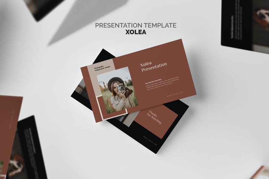 Xolea : Photography Business Profile Keynote