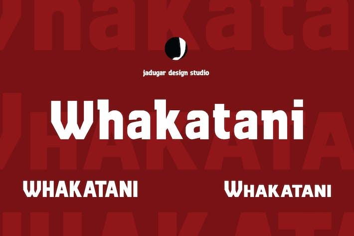 Thumbnail for Whakatani