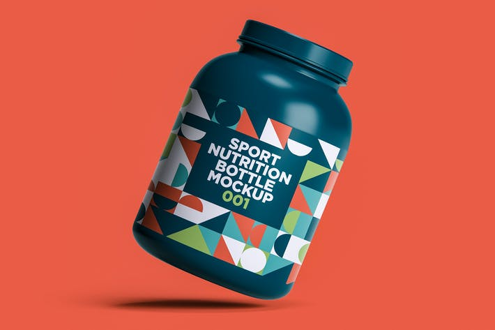 Thumbnail for Sport Nutrition Flasche Mockup 001