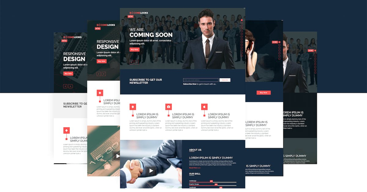 ComeLooks | Multipurpose Business HTML5 Template by themelooks