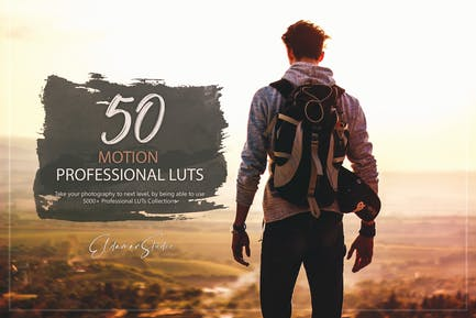 50 Motion LUTs Pack