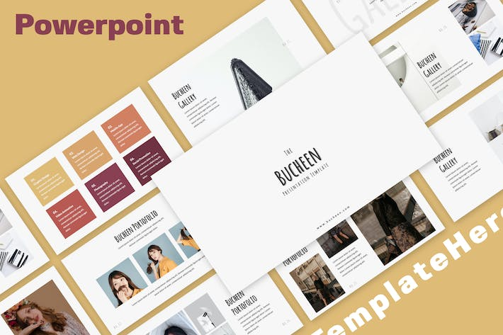BUCHEEN Powerpoint Template