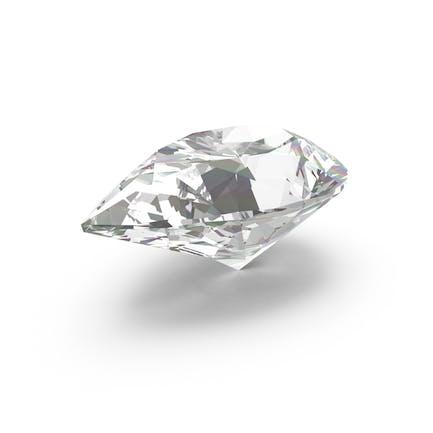 Diamant mit Birnenschliff