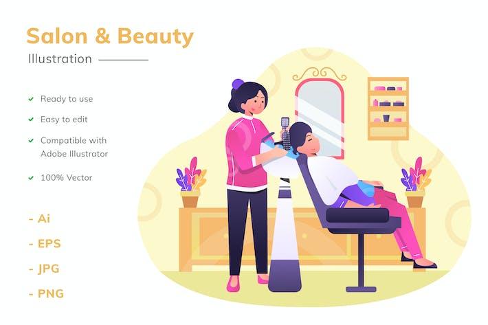 Salon Illustration