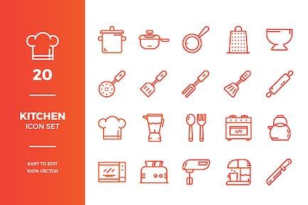 Kitchen Icons Sammlung