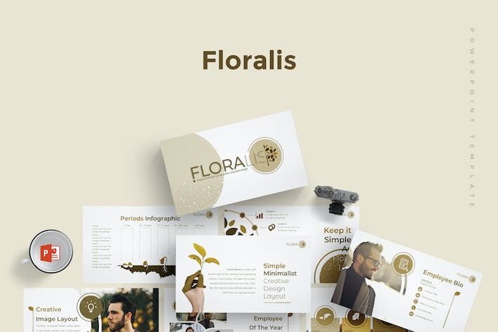 Thumbnail for Floralist - Powerpoint Template