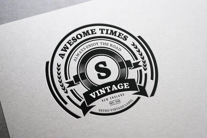 Thumbnail for Retro Vintage Logo V1