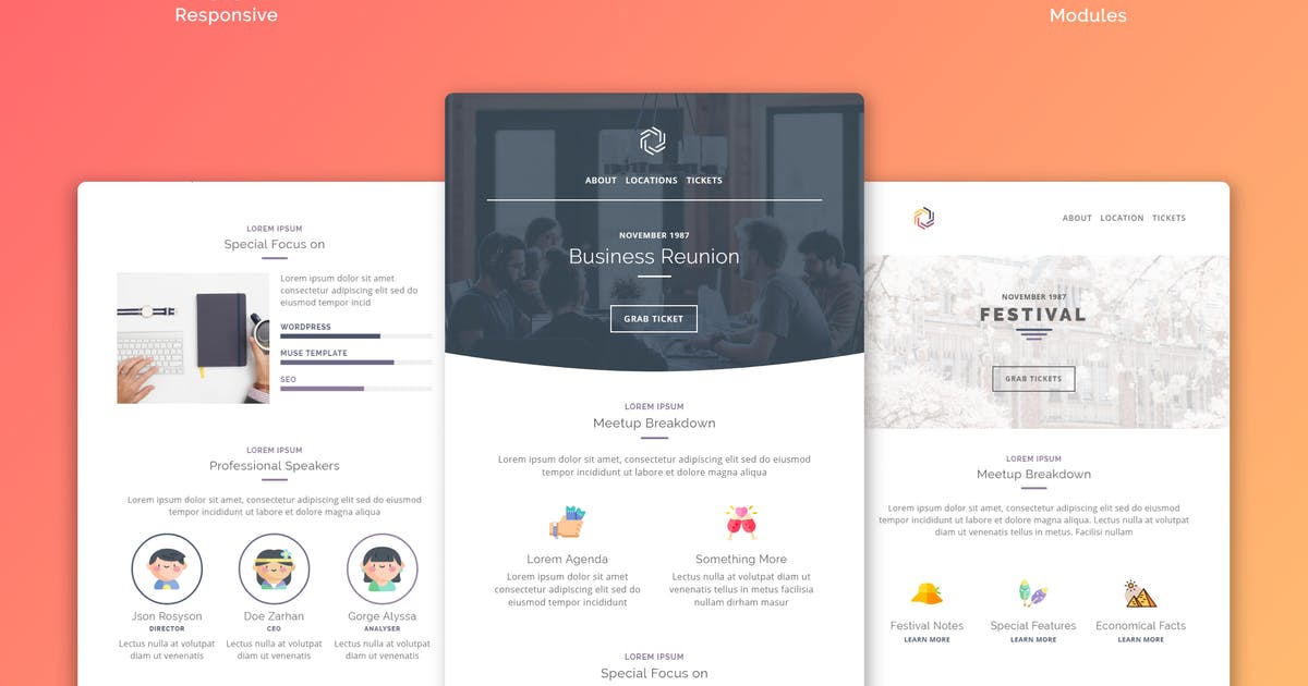 Download Mailee Responsive Multipurpose Email Template by Avagon