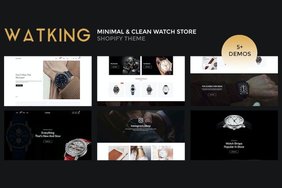 Watking — Minimal & Limpio Watch Shopify Tema