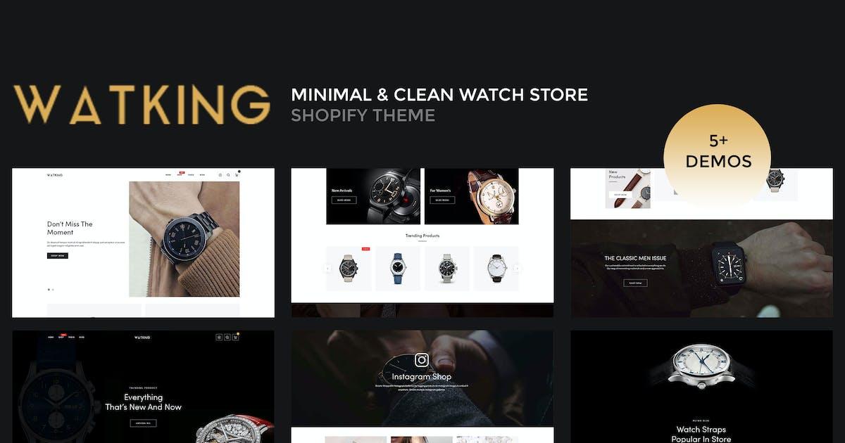 Download Watking – Minimal & Clean Watch Shopify Theme by ShopiLaunch