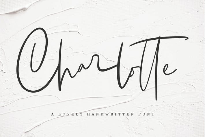 Thumbnail for Charlotte | Handwritten Font MS