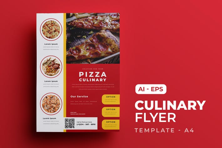 Culinary Food Flyer Template
