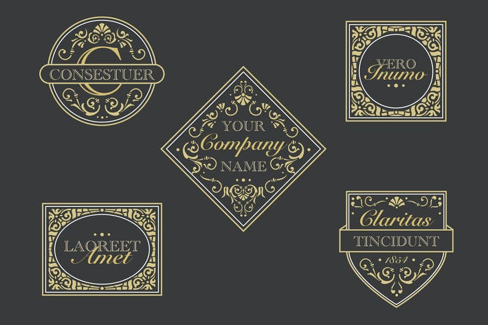 Cover Image For Antique Labels