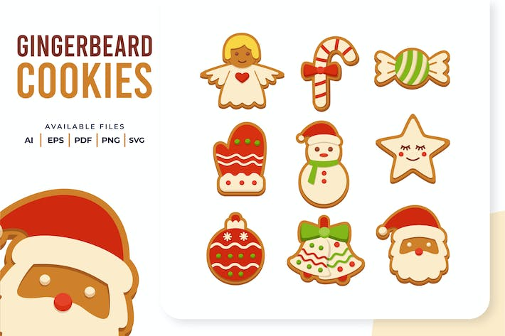 Thumbnail for Gingerbeard Cookies