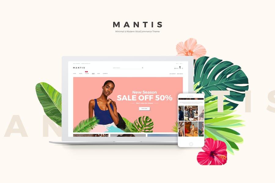 Mantis - Minimal & Modern WooCommerce Theme