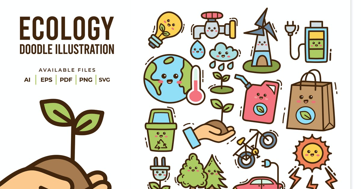 Download Ecology Doodle Illustration by yellowline_std