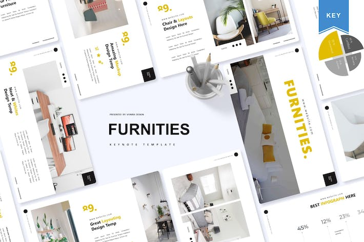 Thumbnail for Furnities | Keynote Template