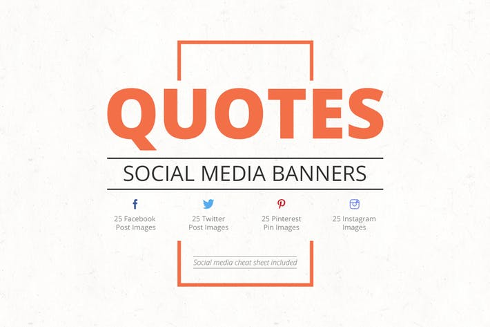 Thumbnail for Quotes Social Media Banners