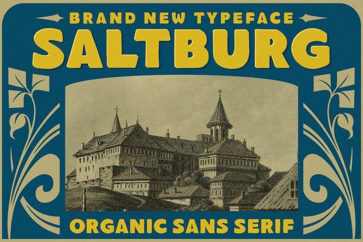 Saltburgo - Organic Sans Con serifa