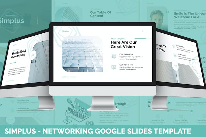 Simplus - Networking Google Slides Template