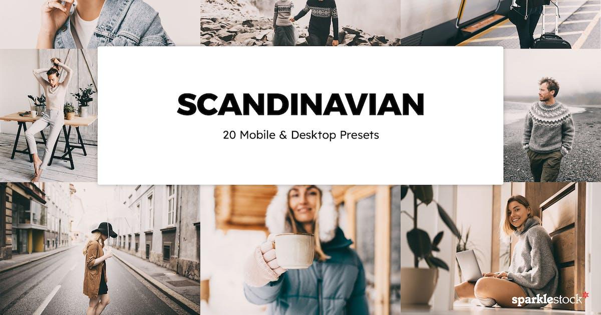 Download 20 Scandinavian Lightroom Presets & LUTs by sparklestock