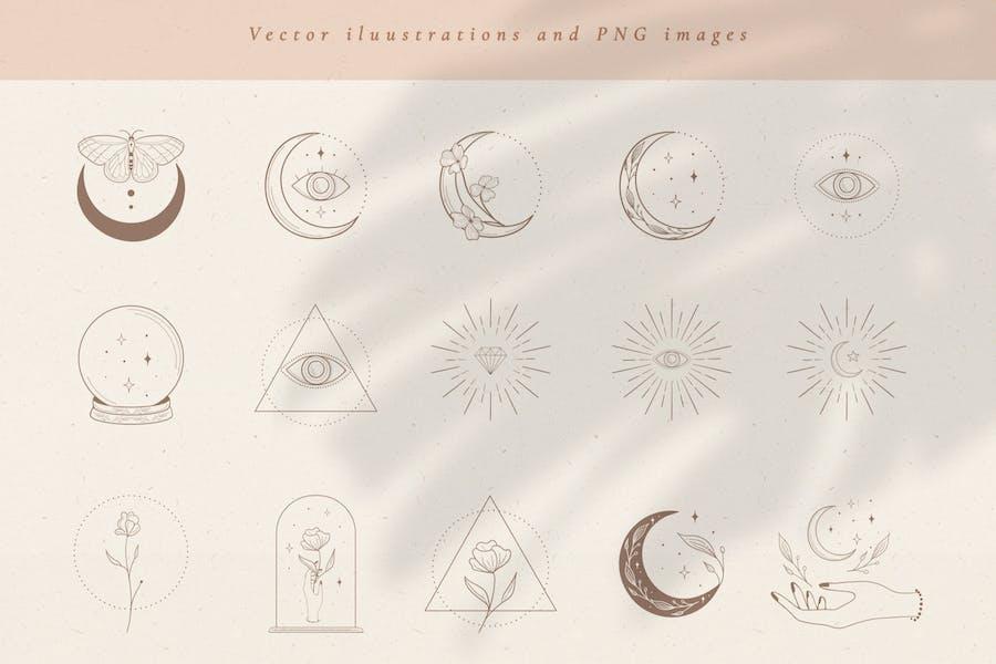 Hand Drawn Vector Illustrations Vol. 2