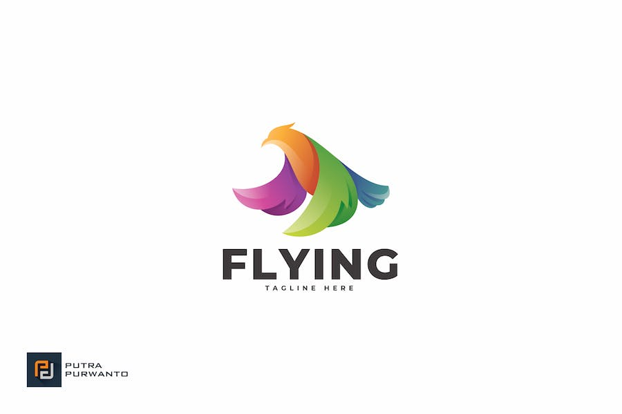 Flying - Logo Template