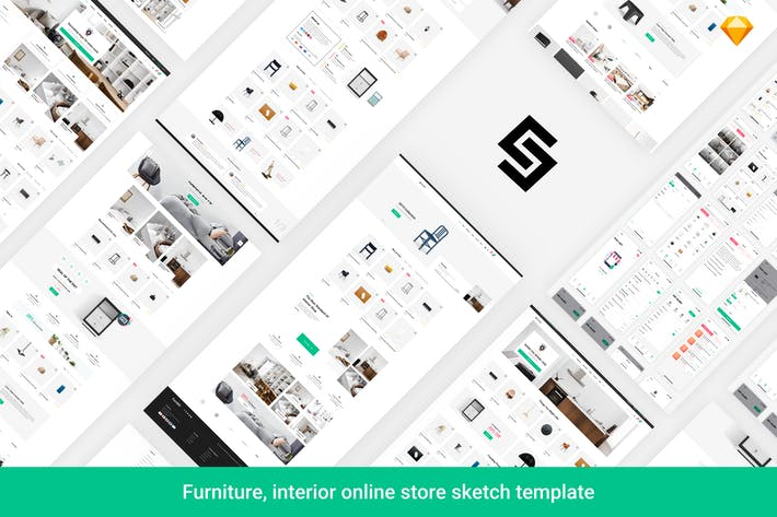 Thumbnail for Furnikit - Funiture eCommerce Sketch Template