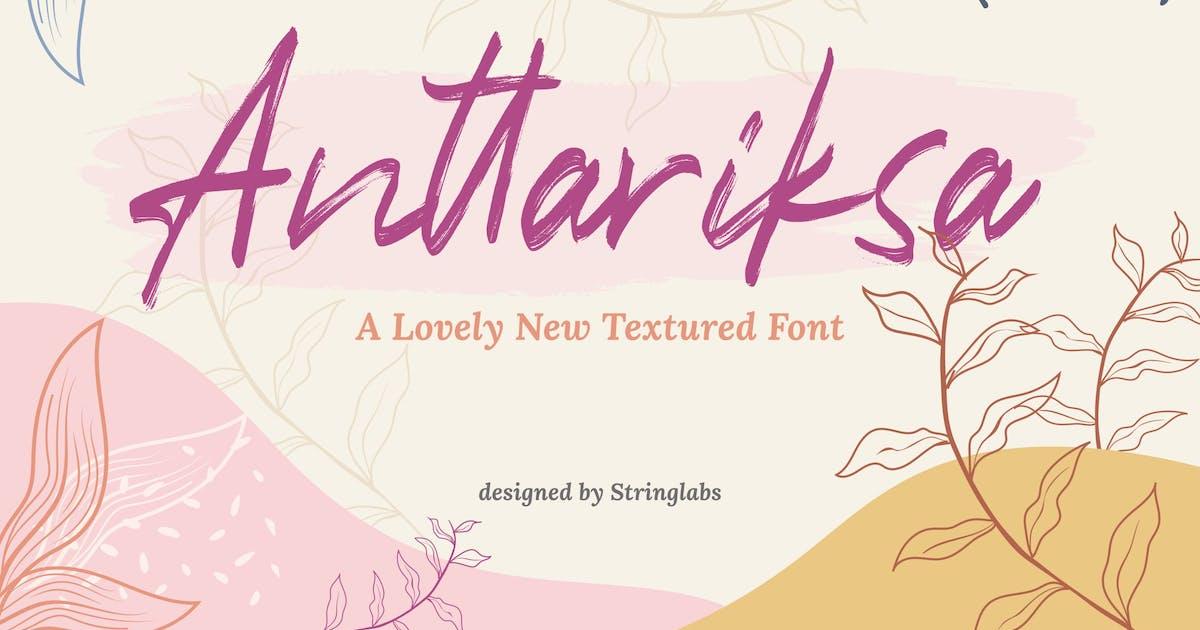 Download Anttariksa - Brush Script Font by StringLabs
