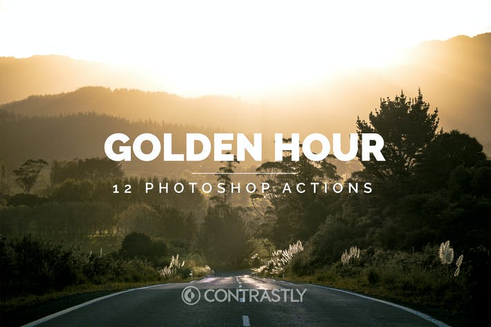 Thumbnail for Golden Hour Photoshop Actions