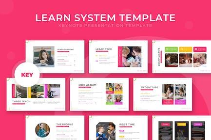 Aprender Sistema - Plantilla de Keynote