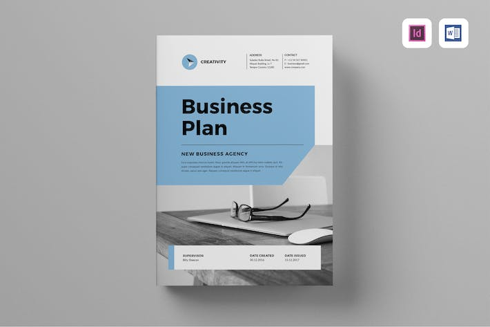 Business plan by leaflove on envato elements cover image for business plan flashek Images